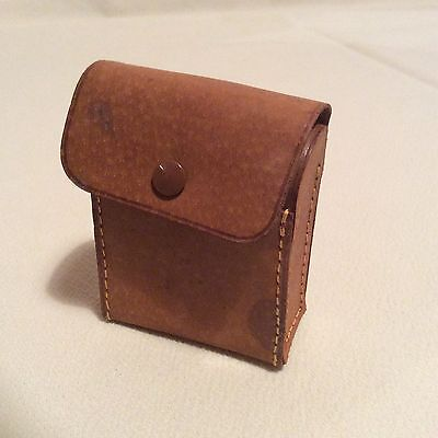 Leather Vintage Accessory Case