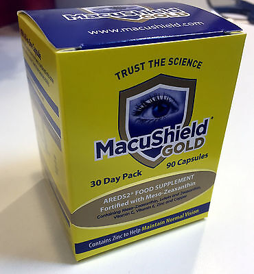 90-270 Macushield Gold Omega 3 triple-capsule eye care supplement 1 - 4 months