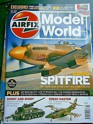 Airfix Model World Magazine March 2019 (new) Issue 100