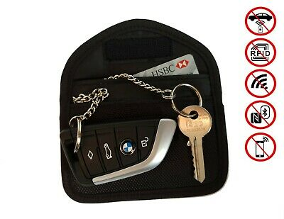 Signal Blocking Car Key Pouch