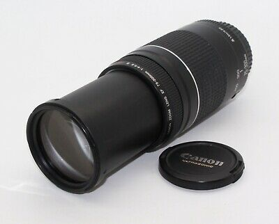 Canon Zoom EF 75-300mm F/4-5.6 III USM Lens – Very good condition and tested
