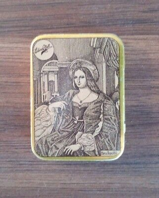 "Very rare ""Edison Bell"" gramophone needles tin full puntine grammofono Excellent"