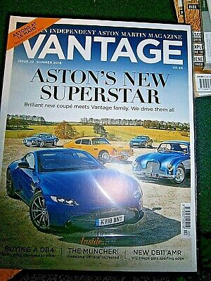 Vantage Magazine Aston Martin  Issue 22 Summer 2018 (new)