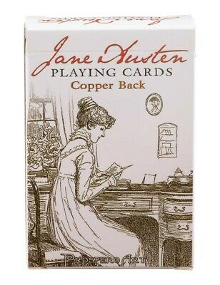 Victorian Trading Co Copper Back Jane Austen Quotes & Characters Playing Cards
