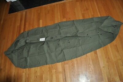 Army OD Green M-1945 Sleeping Bag Cover New Condition October 1966 Viet Nam Era