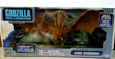 2019 Godzilla King Of The Monsters King Ghidorah Figure .Nib..6 Inch Articulated