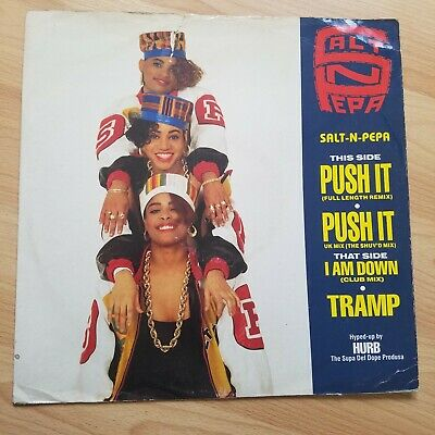 "Salt 'N' Pepa - Push It 12"" Vinyl Record Single - Hip Hop Rap Old Skool"