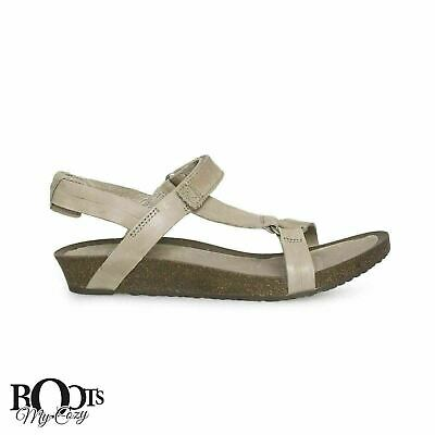 e66805496b81 Teva Ysidro Universal Taupe Leather Strappy Women s Sandals Size Us 8.5 New