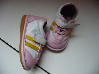 1ea9f2061f Toddler Girls Pink white- Squeakers Shoes Laniecakes Size 5 Squeaky Shoe EUC