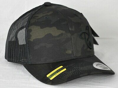 32ddda5aaeffd Mystery Ranch Spinner Snapback Cap Trucker Hat 110740 Multicamo Black  Adjustable
