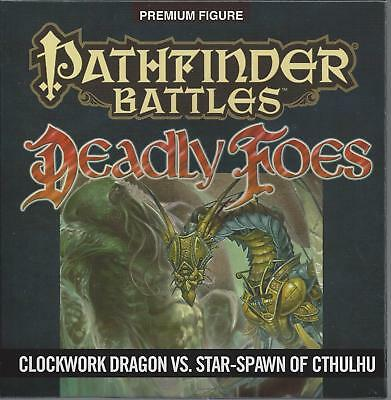 CLOCKWORK DRAGON AND Star Spawn of Cthulhu Pathfinder D&D Miniatures