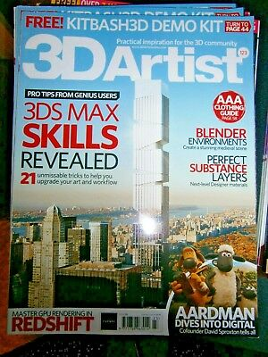 3D Artist Magazine Issue 123 (new) 2018