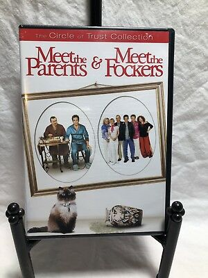 Meet The Parents & Meet The Fockers New 2 Dvd The Circle Of Trust Collection New