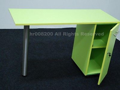 BRAND NEW LIME GREEN Manicure Technicians Table Station Nail Bar .