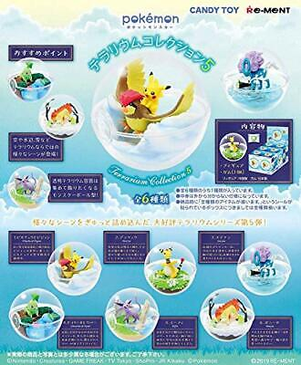 Re-ment Pokemon Terrarium Collection 5 All Full set of 6 Figures JAPAN OFFICIAL