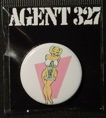 Pin Button Badge Ø38mm    ( AGENT 327 ) #3