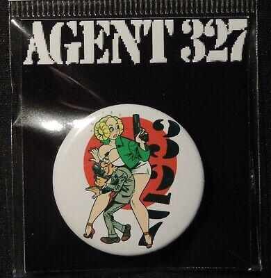 Pin Button Badge Ø38mm    ( AGENT 327 ) #6
