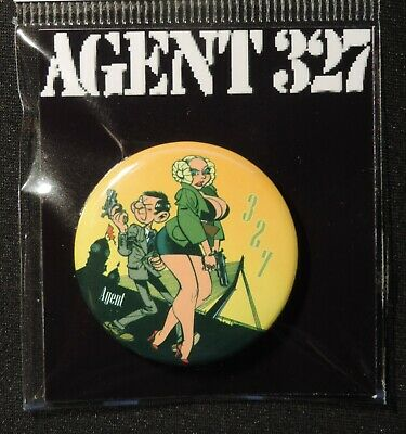 Pin Button Badge Ø38mm    ( AGENT 327 ) #7