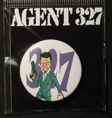 Pin Button Badge Ø38mm    ( AGENT 327 ) #8
