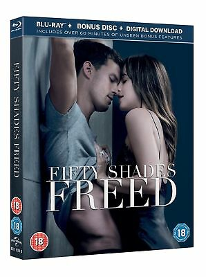Fifty Shades Freed Blu-Ray + Bonus Disc + Digital Download