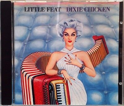 Little Feat - Dixie Chicken (CD 1988) AAD Mastering Made In Germany