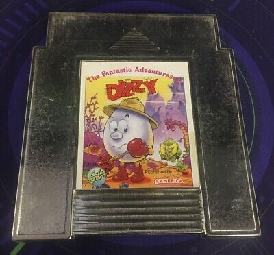 The Fantastic Adventures of Dizzy (NES, 1992) Authentic Fast Free Shipping