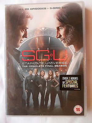 Stargate Universe Season 2 Complete Dvd 5 Disc Box Set Plus Bonus 2 Hours Final