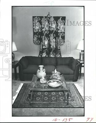 1982 Press Photo Special showing of Oriental antiques and art objects, Art Japan