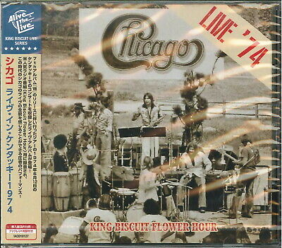 Chicago-Live '74 King Biscuit Fower Hour-Import CD Japan Obi F08