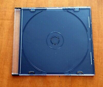 83  New Single Black DVD CD Cases, Holds 1 Standard Disc, Free Priority Shipping