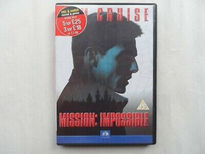 Mission Impossible DVD - Film Movie Tom Cruise - DVD Disc Only