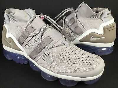 Nike Air Vapormax Flyknit Utility Moon Particle Violet Size 11 Rare AH6834-205