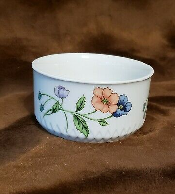 Vintage House of Prill Porcelain AMAPOLA POPPY Pattern Bowl