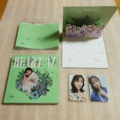 IZ*ONE HEART*IZ 2nd Mini Album Violeta ver. YUJIN Full Set IZONE HEARTIZ