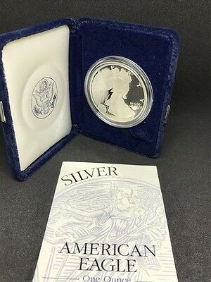 1994 Proof American Silver Dollar with Box and COA, KEY DATE OF THE SERIES