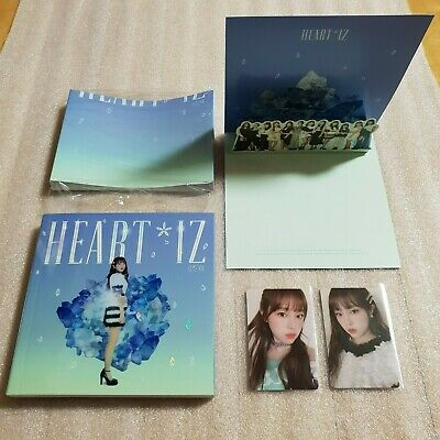IZ*ONE HEART*IZ 2nd Mini Album Sapphire ver. YENA Full Set IZONE HEARTIZ