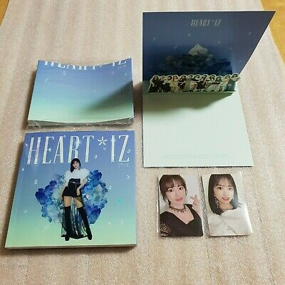 IZ*ONE HEART*IZ 2nd Mini Album Sapphire ver. YUJIN Full Set IZONE HEARTIZ