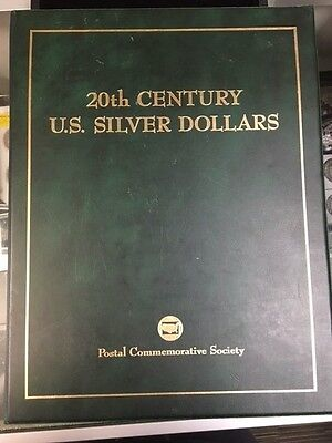 20th Century U.S. Silver Dollar Type Set, by Postal Commemorative Society