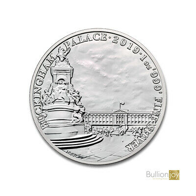 2019 Landmarks of Britain Buckingham Palace Silver Coin 1 oz Silver Coin New