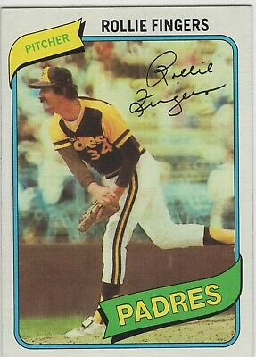 Rollie Fingers 1980 Topps # 651 Wholesale Lots *nice Card--well Centered--sharp Corners* Without Return