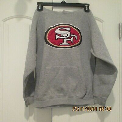 YOUTH SIZE 10 NFL GAP SF San Francisco 49ers pullover Hoodie