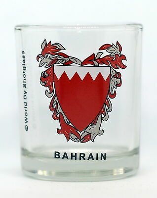 Bahrain Shot Glass Shotglass