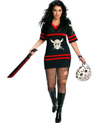 Sexy Miss Voorhees Womens Plus Size Costume Size PLUS