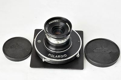 1:4 F35MM Rodenstock Eurygon Lens in Polaroid Prontor Shutter Made in Germany