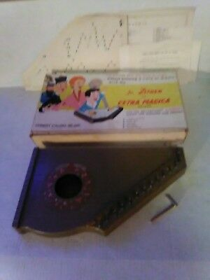 VINTAGE Jr Zither La Cetra Macica Deluxe FROM ITALY pre-owned