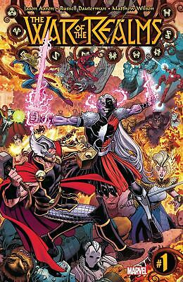 War Of Realms | #1-6 + Omega #1 Choice of Main & Variants | MARVEL | 2019 NM
