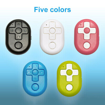 Wireless Bluetooth Remote Shutter Controller Button for Camera Phone TV