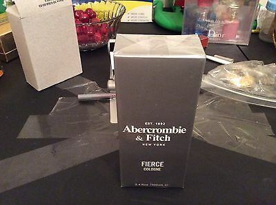 Homme Perfume Fierce by Abercrombie & Fitch Men's Cologne Spray 3.4 oz 100ml New