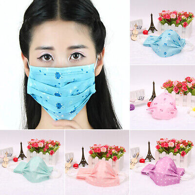 10x Disposable Mouth Face Dental Mask Medical Surgical Dust Filter Respirator