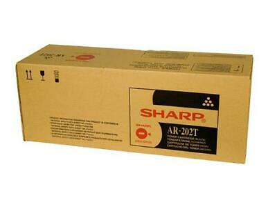 GENUINE Sharp AR202T Black Mono Copier Toner Cartridge